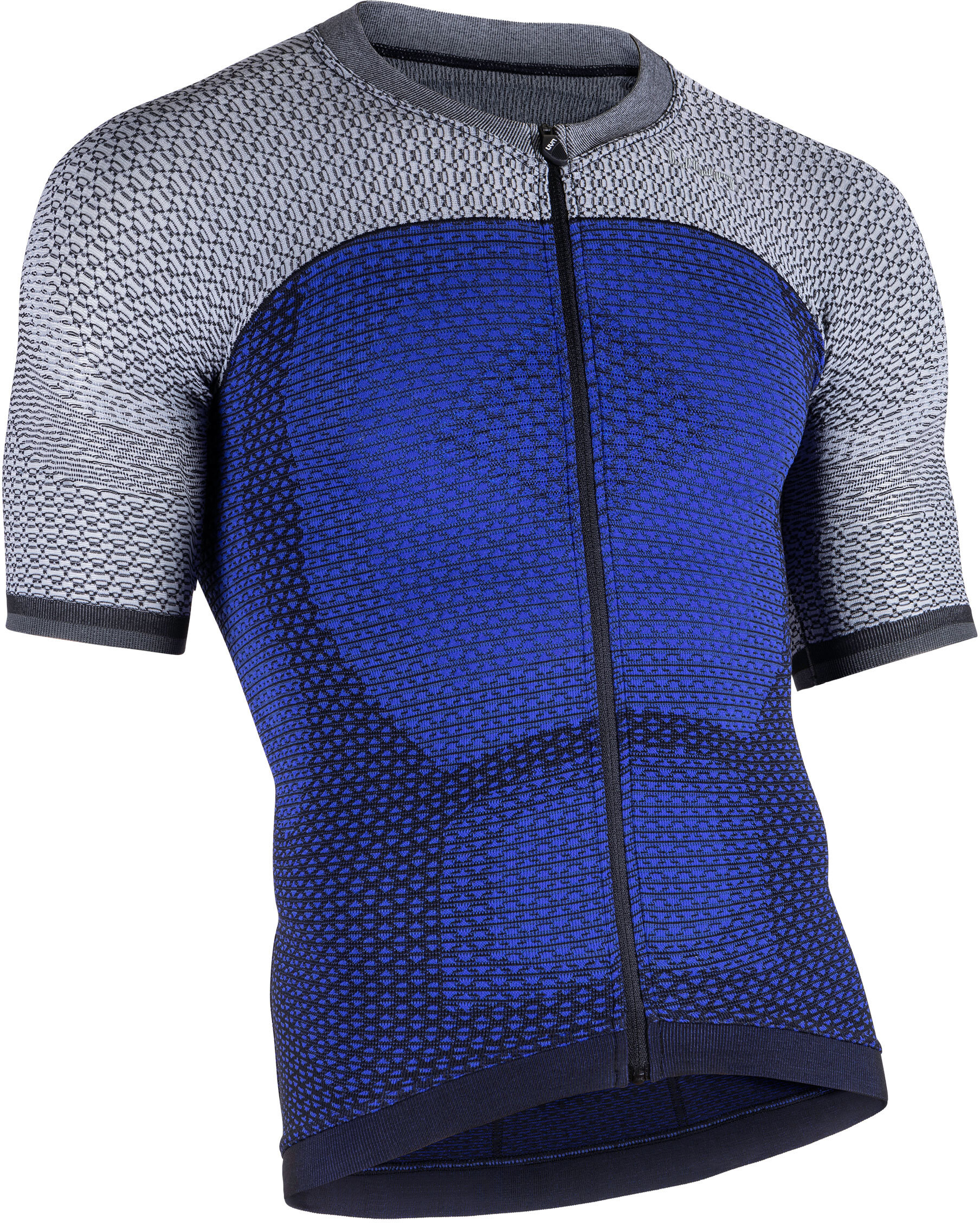 53407f5e5b33bc UYN Biking Alpha OW maglietta a maniche corte Uomo, medieval blue/sleet grey